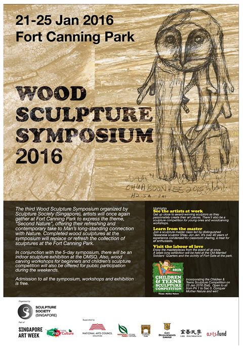 Wood Sculpture Symposium 2016